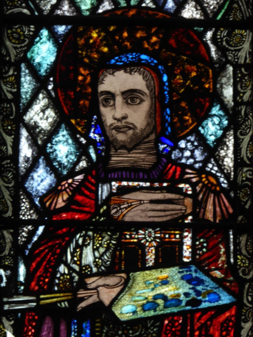 st luke - glass 2