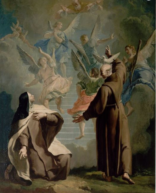 st peter alcantara and st teresa avila