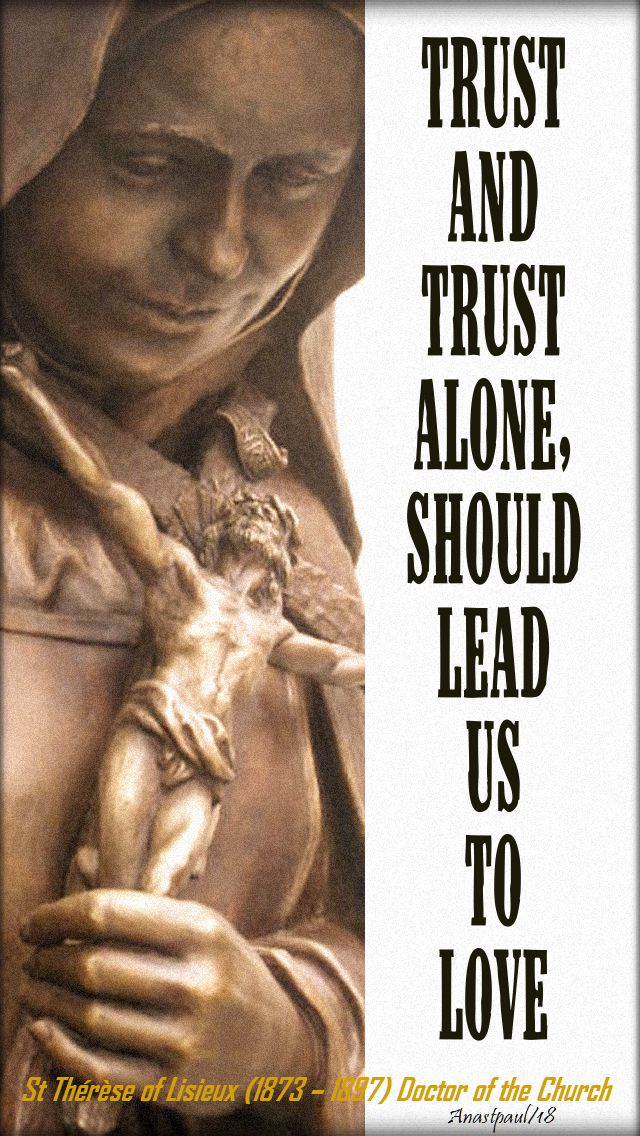 trust and trust alone - st t of l - 1 oct 2018