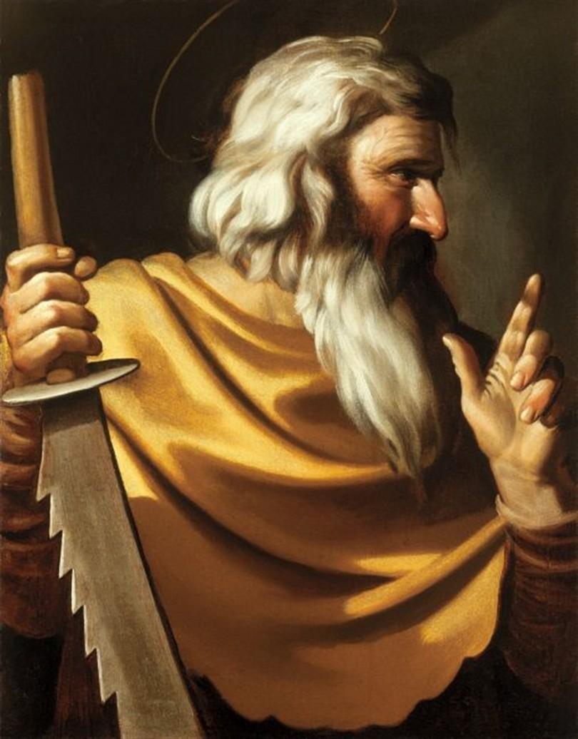 UNKNOWN CARAVAGGIST st simon apostle