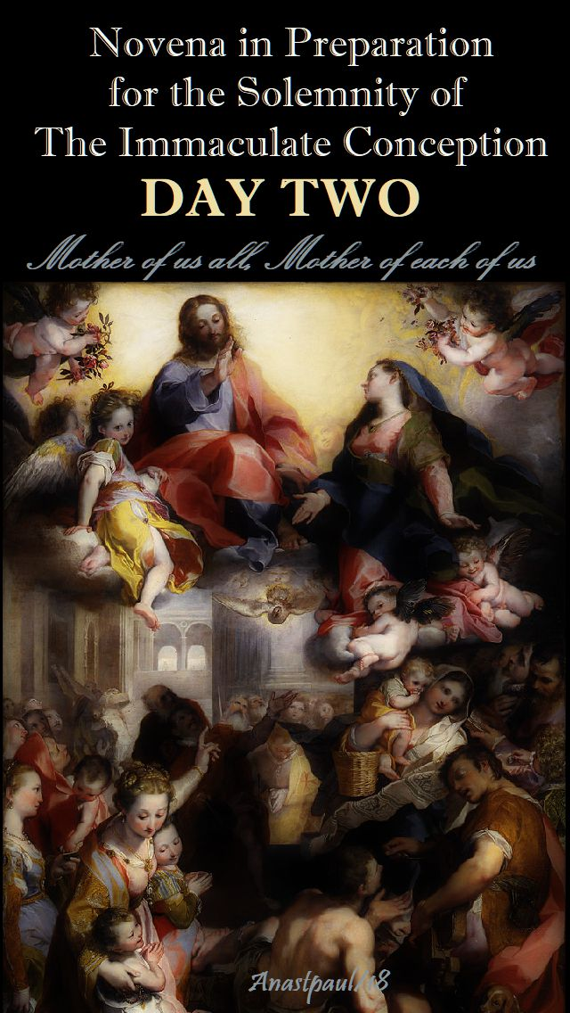DAY ONE - IMM CONCEPTION NOVENA - MOTHER OF ALL
