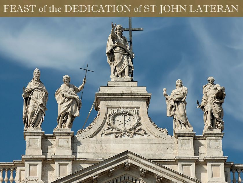 feast of the ded john lateran 9 nov 2018