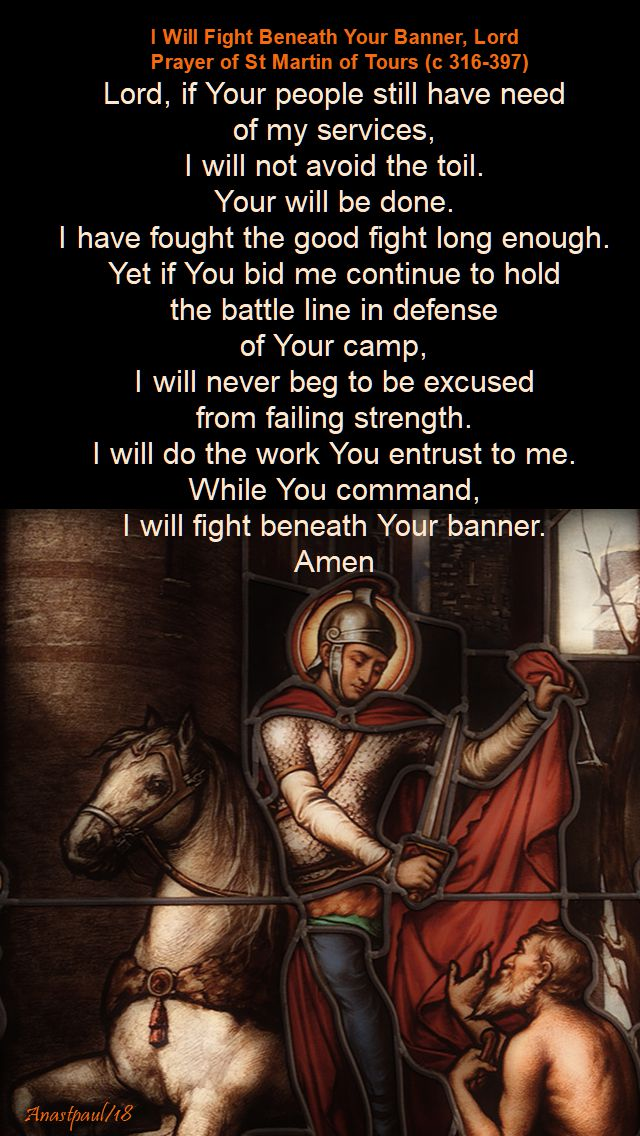 i will fight beneath your banner lord - st martin of tours - 11 nov 2018.jpg