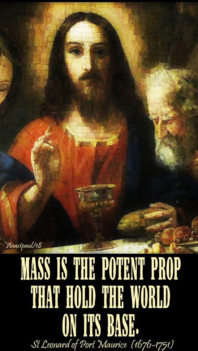 mass is the potent prop-stleonardofportmaurice-27nov2018