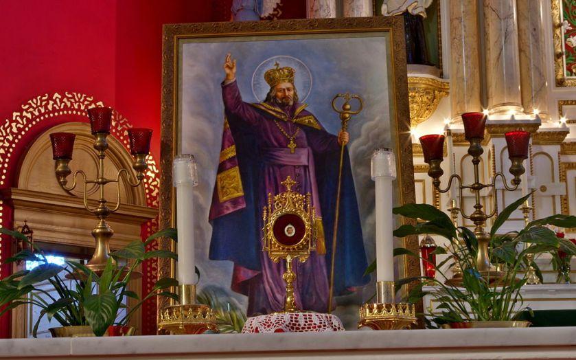 Saint_Josaphat_Catholic_Church_(Detroit,_MI)_-_relic_of_Saint_Josaphat