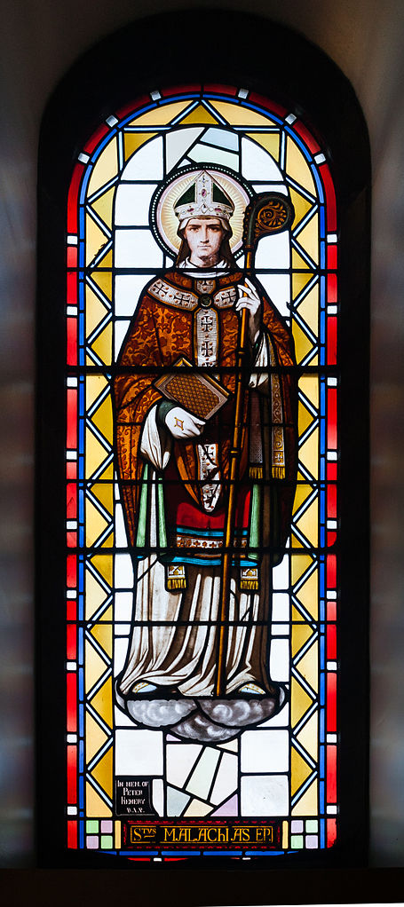 Sligo_Cathedral_of_the_Immaculate_Conception_Ambulatory_Window_07_Malachy_2013_09_14