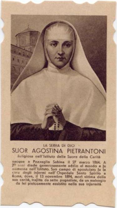 ST AGOSTINA CARD