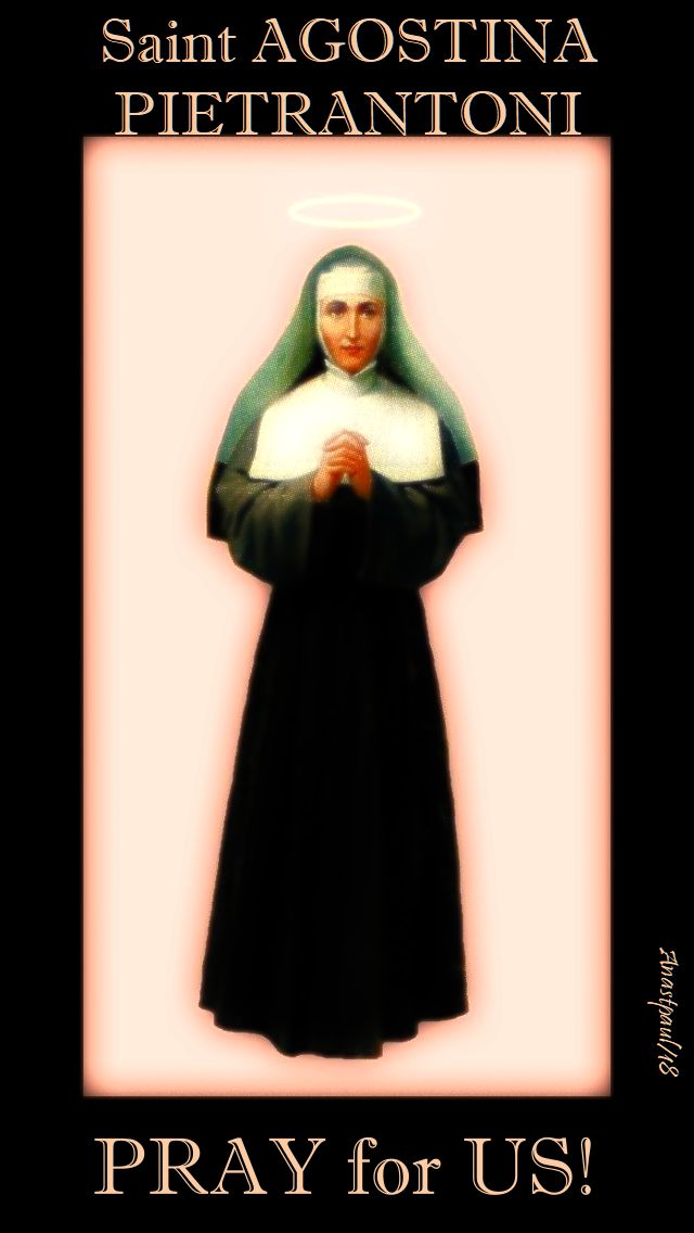 st agostina pietrantoni pray for us no 2 13 nov 2018