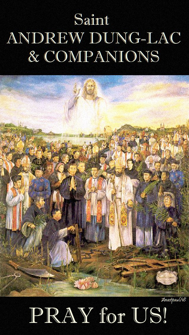 st andrew dung lac pray for us 24 nov 2018