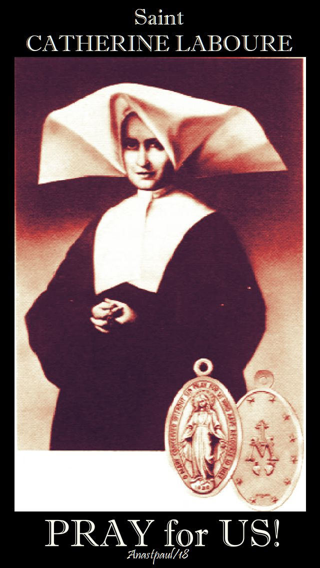 st catherine laboure pray for us - 3 - 28nov2018
