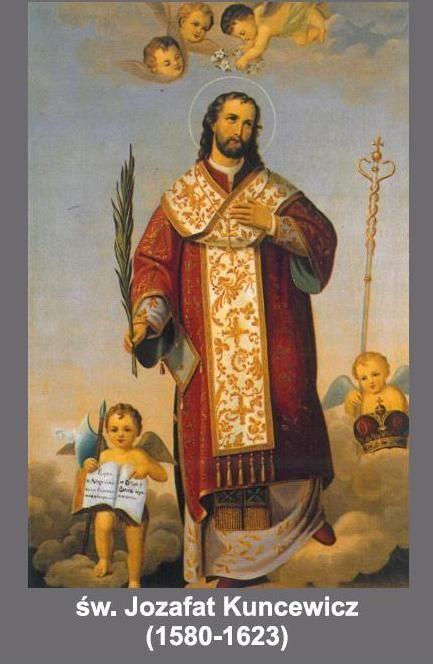 st josaphat holy card