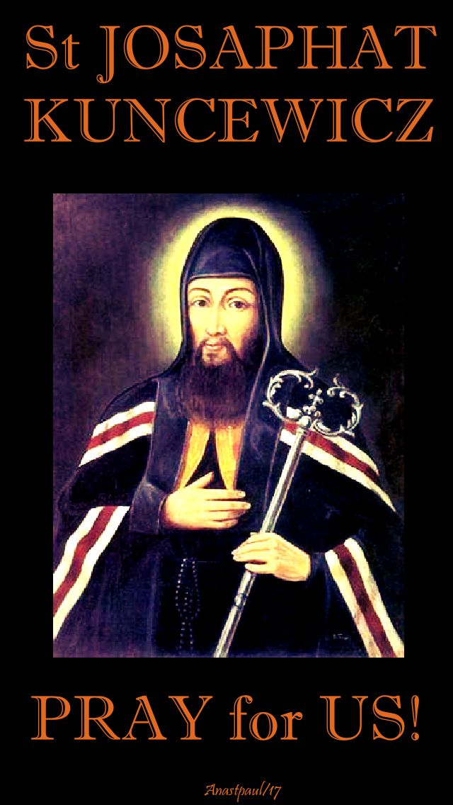 st-josaphat-pray-for-us-12 NOV 2017 - 2