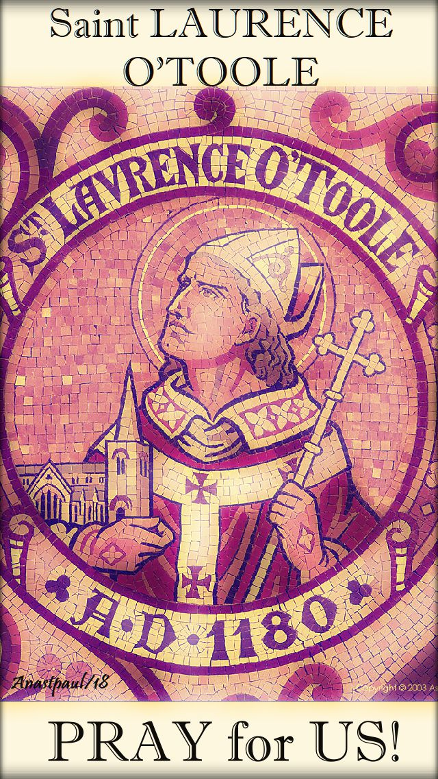 st laurence o'toole pray for us - 14 nov 2018