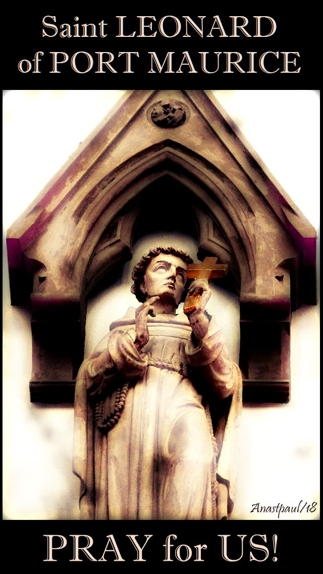 st leonard of port maurice pray for us no 2 - 27nov2018