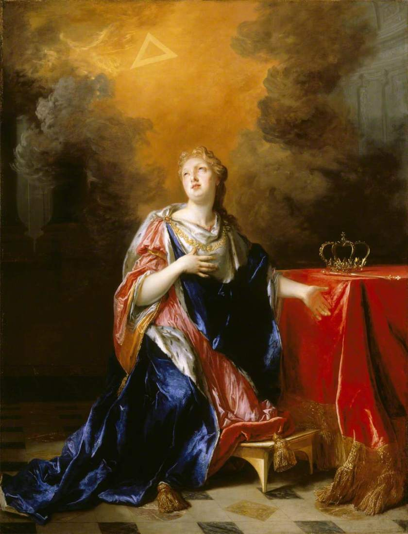 de Largilliere, Nicolas, 1656-1746; Saint Margaret (c.1045-1093), Queen of Scotland
