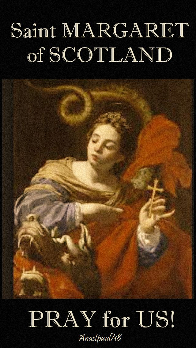 st margaret of scotland pray for us 16 nov 2018