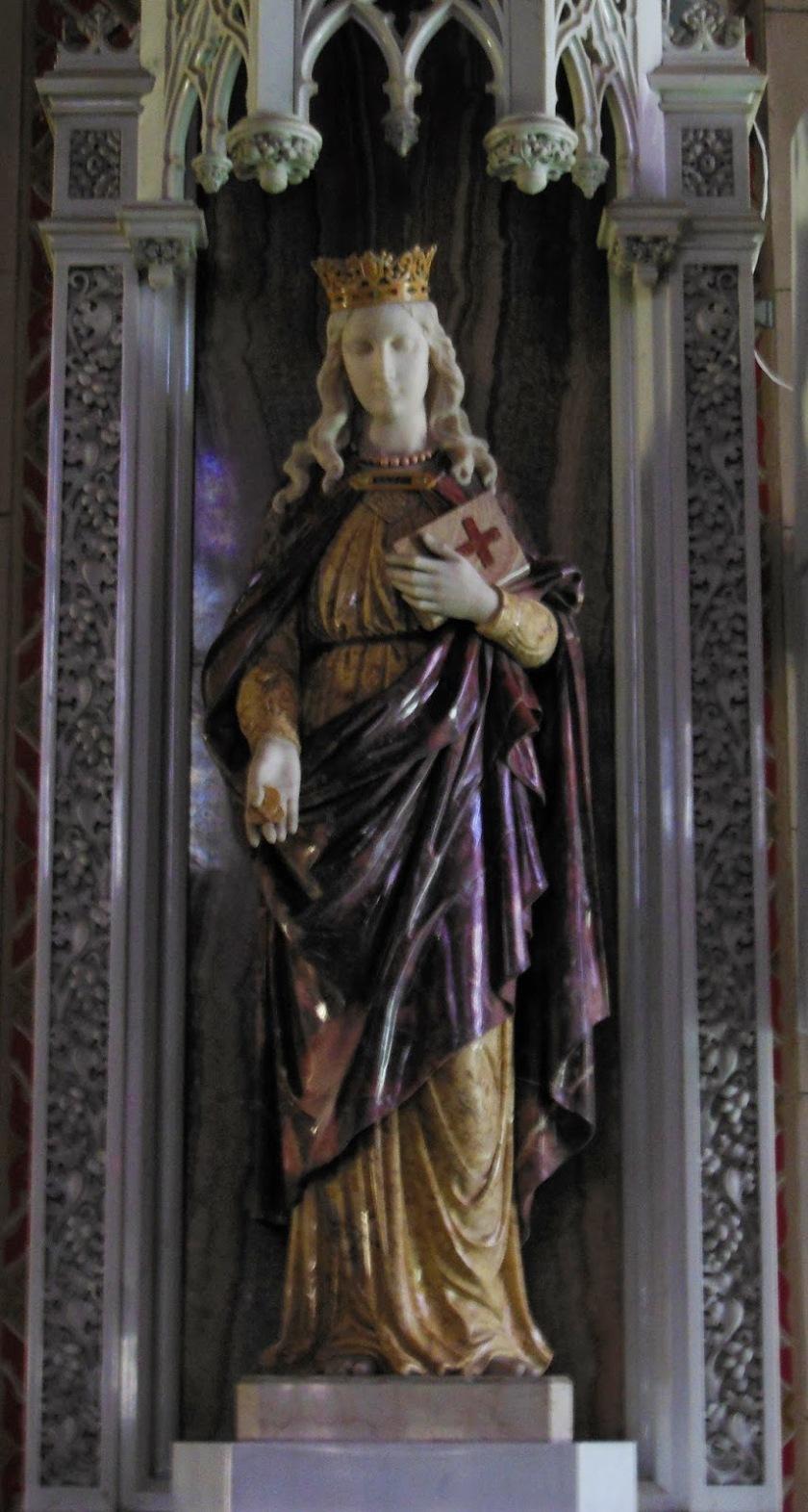st margaret statue