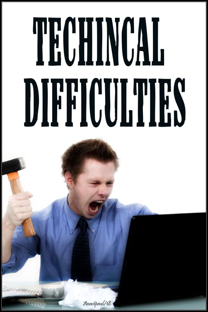 technical difficulties 22 nov 2018