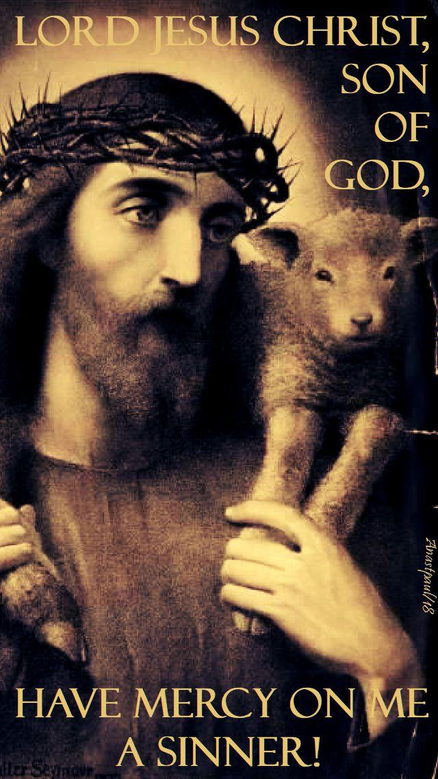 the jesus prayer 3 - 13 feb 2018 - shrove tuesday