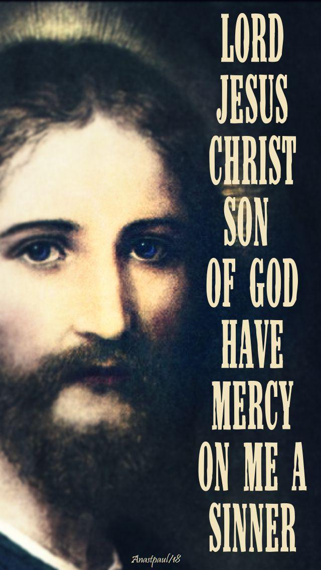 the jesus prayer - st josaphat's favourite - 12 nov 2018