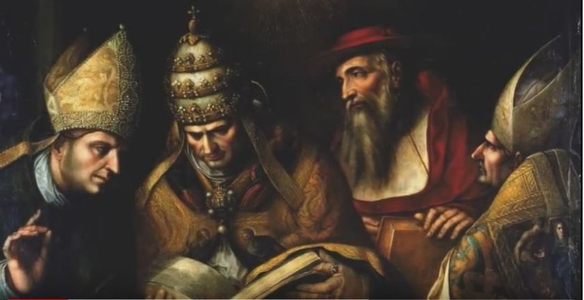 4 ORIGINAL LATIN FATHERS - JEROME, AMBROSE, GREGORY & AUGUSTINE