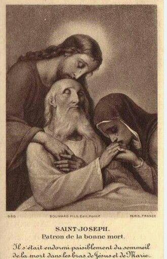 HOLY FAMILY DEATH OF ST JOSEPH