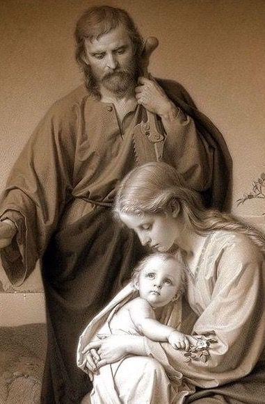 Holy Family carl muller close up