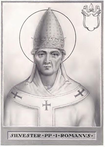 Pope-St-Sylvester-I