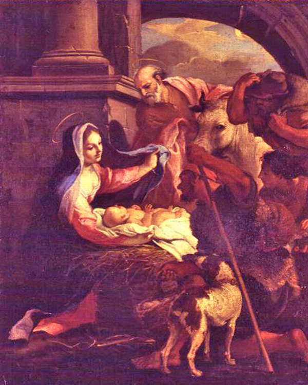 THE BIRTH OF CHRIST gandolfi