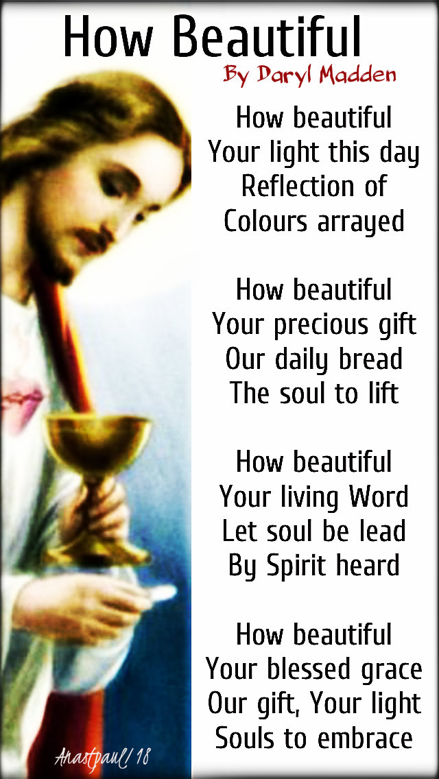 how beautiful poem prayer by daryl madden 16 dec 2018