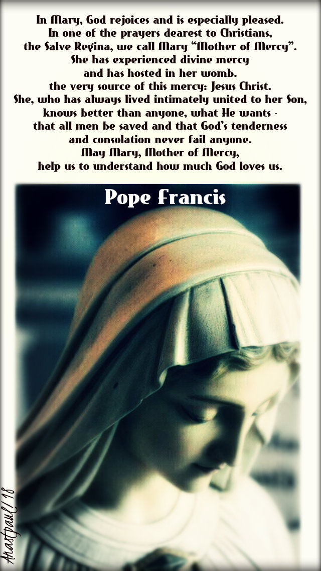 iN mARY gOD REJOICES - POPE FRANCIS 12 DEC 2018.jpg