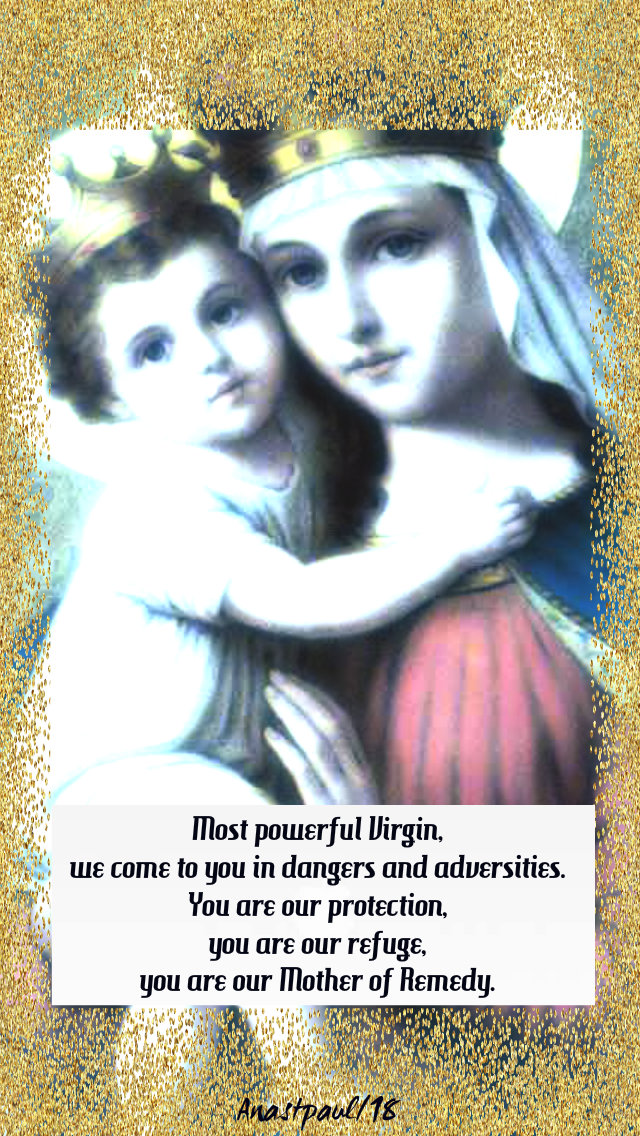 most powerful virgin - our lady of good rememdy stjohn of matha 17dec2018
