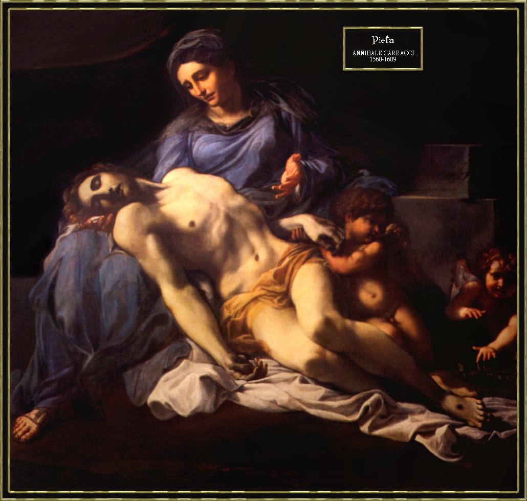pieta carracci 1560-1609