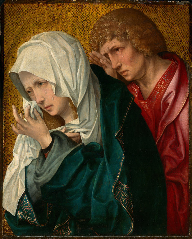 st john and the sorrowful mother - van-weyden-at-the-cross