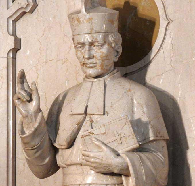 st john of kanty statue