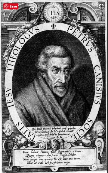 st peter canisius engraving