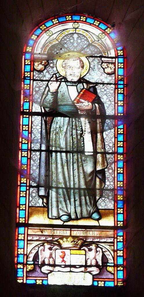 st peter fourier 497px-Coulaures_église_vitrail_(8)