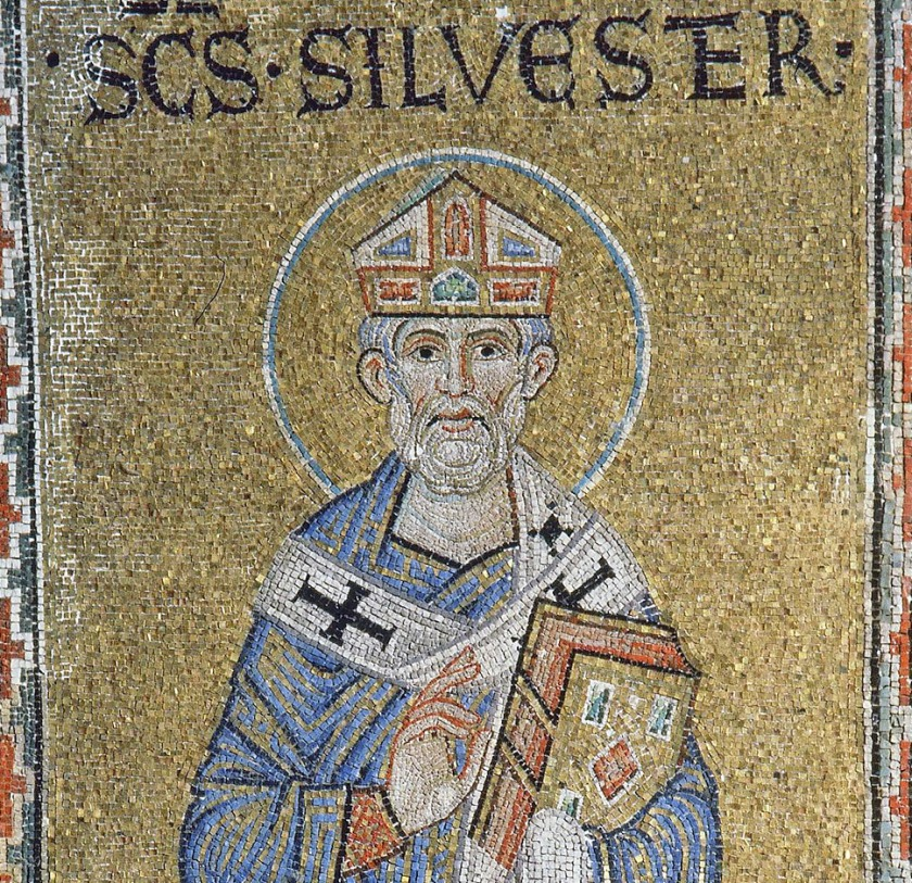st pope sylvester Silvestru-Roma-San-Marco-s12-IN