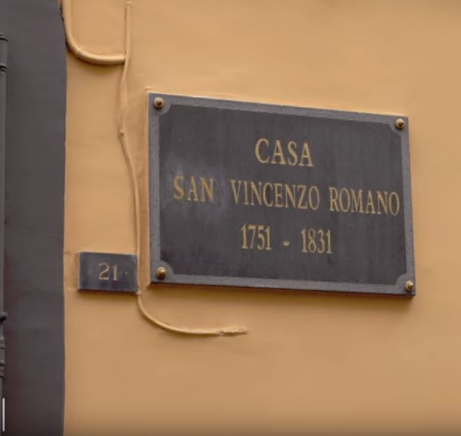 the birthplace and home of st vincenzo