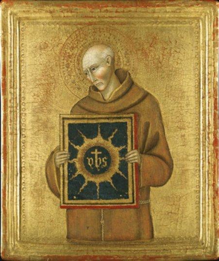 The holy name and -saint-bernardino-of-siena
