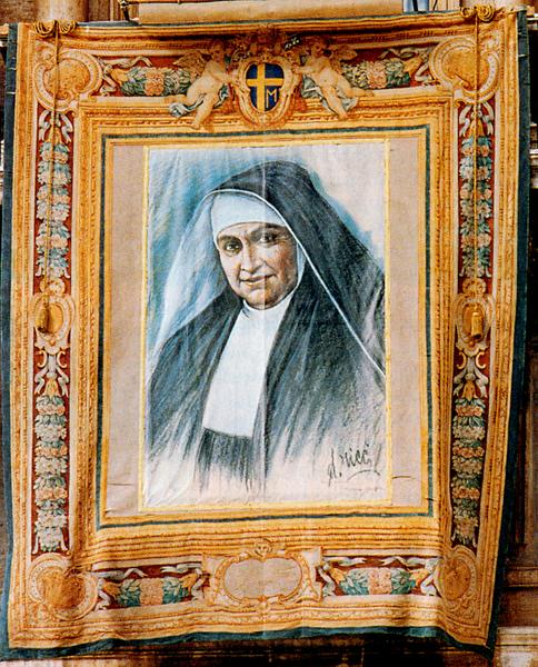 beatification tapestry bl maria teresa fasce