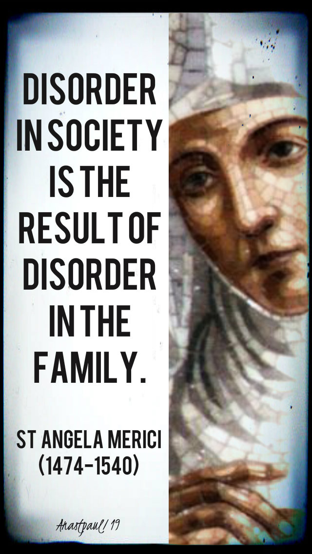 disorder in society is the result of disorder in the family 27 jan 2019.jpg