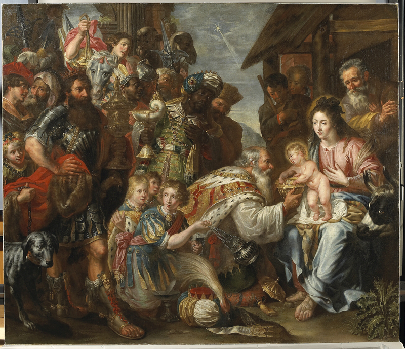 epiphany pieter_van_lint_-_adoration_of_the_magi