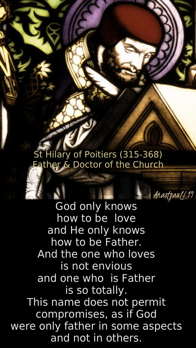 god only knows how to love - st hilary 13 jan 2019.jpg