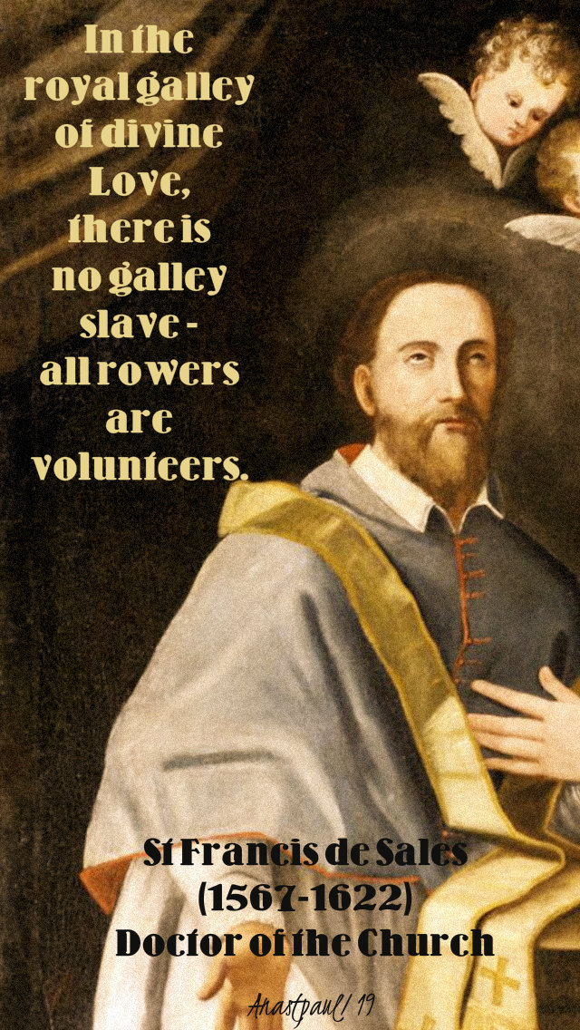in the royal galley of divine love - st francis de sales 24 jan2019.jpg