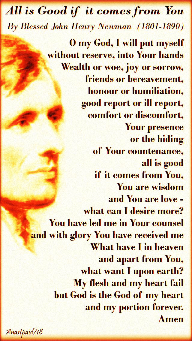 o-my-god-all-is-good-if-it-comes-from-you-bl-john-henry-newman-no-3-25-sept-2018