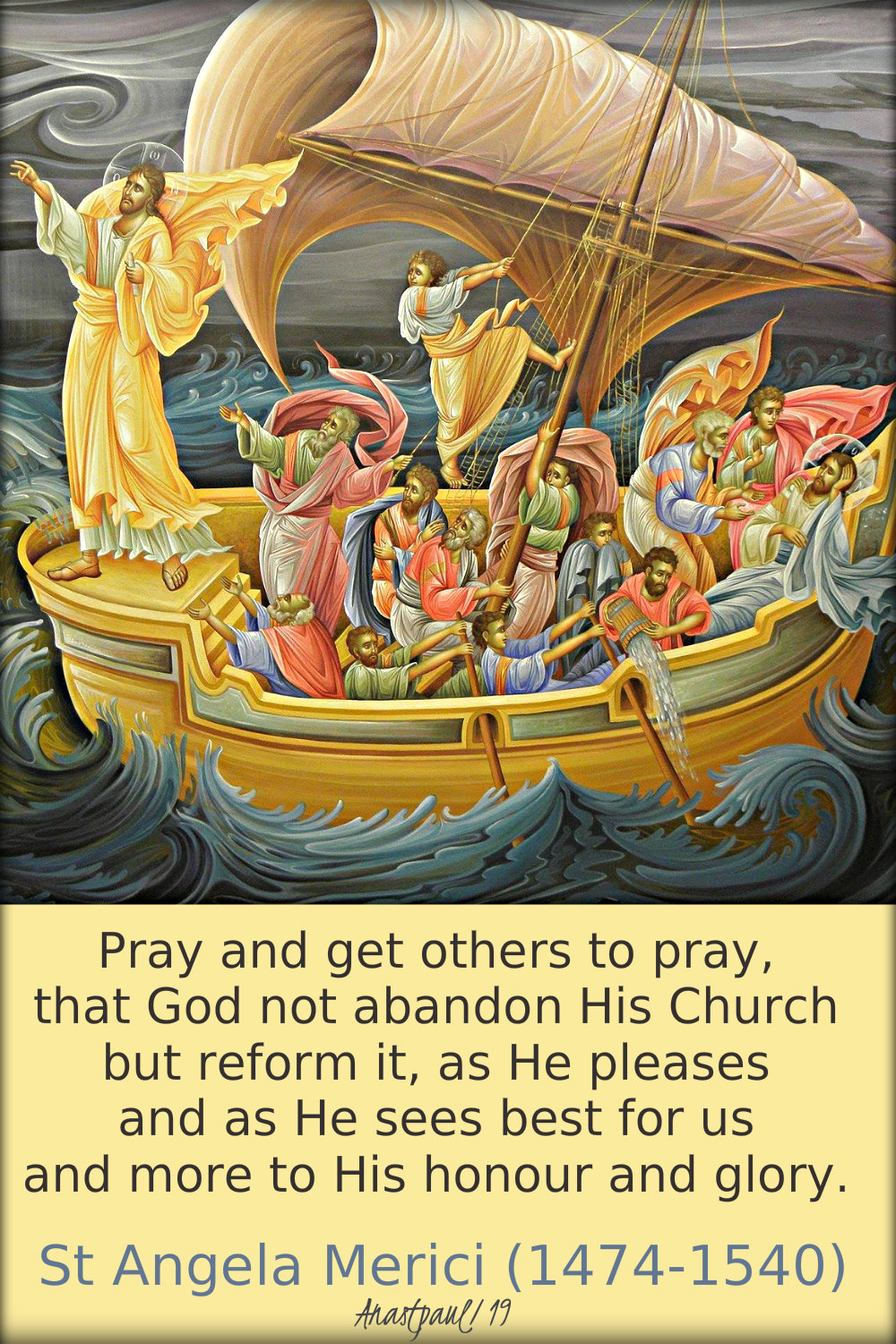 pray and get others to pray - st angela merici 27 jan 2019.jpg