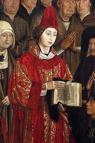 st vincent saragossa altarpiece