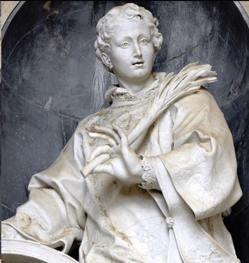 st vincent saragossa vatican statue