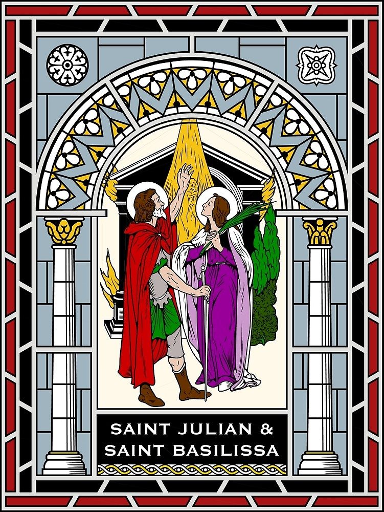 sts julian and basilissa